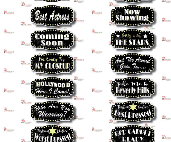 Hollywood - Photo Booth rental